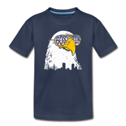 Boston Eagle Toddler T-Shirt - navy