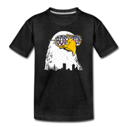 Boston Eagle Toddler T-Shirt - charcoal gray