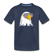 Boston Eagle Youth T-Shirt - navy