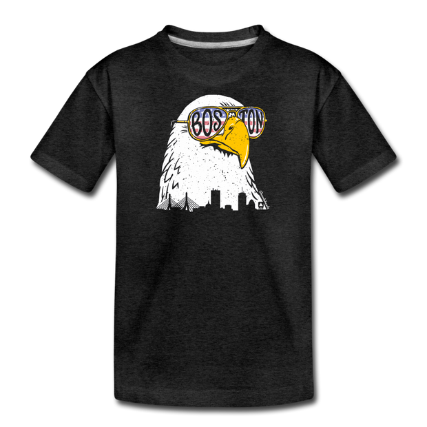 Boston Eagle Youth T-Shirt - charcoal gray