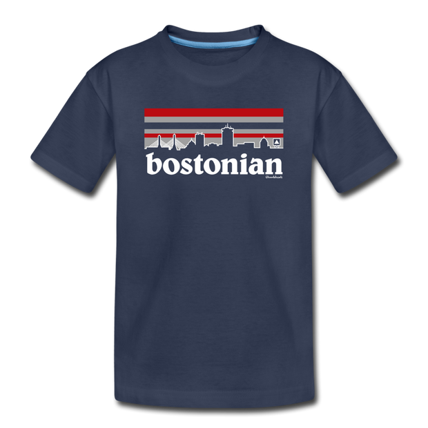 Bostonian Toddler T-Shirt - navy