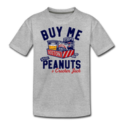 Buy Me Some Peanuts Youth T-Shirt - heather gray