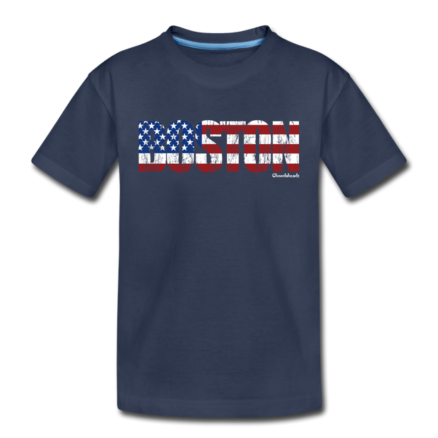 Boston USA Toddler T-Shirt - navy