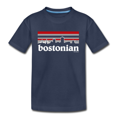 Bostonian Youth T-Shirt - navy