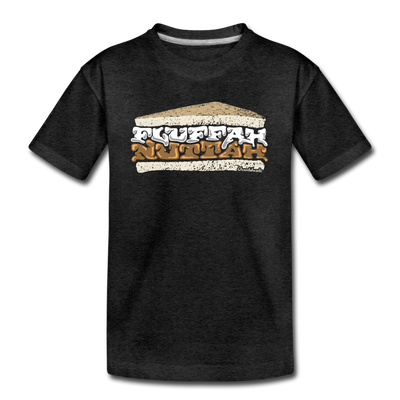 Fluffahnuttah Youth T-Shirt - charcoal gray