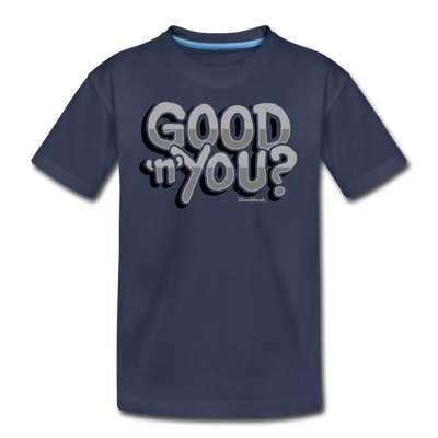 Good N You Youth T-Shirt - navy