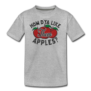 How D'Ya Like Them Apples T-Shirt - heather gray