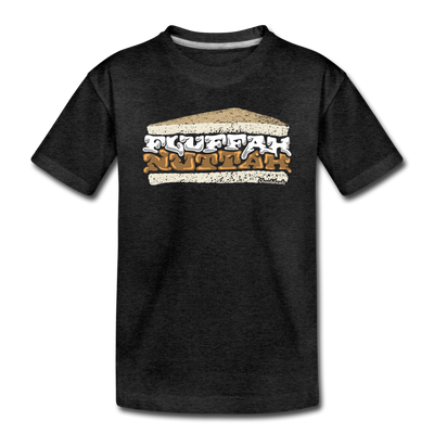 Fluffahnuttah Toddler T-Shirt - charcoal gray
