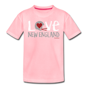 Love New England Toddler T-Shirt - pink