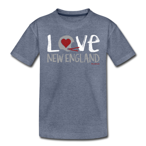 Love New England Toddler T-Shirt - heather blue
