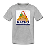 Nacho Sign Youth T-Shirt - heather gray