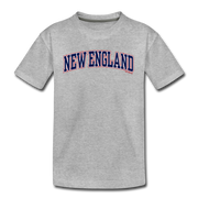 New England Stitch Youth T-Shirt - heather gray