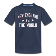 New England VS The World Toddler T-Shirt - navy