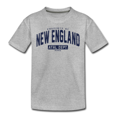 Property Of New England Toddler T-Shirt - heather gray