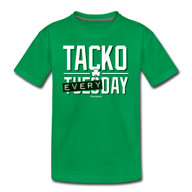 Tacko Everyday Toddler T-Shirt - kelly green