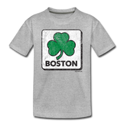 Shamrock Classic Toddler T-Shirt - heather gray