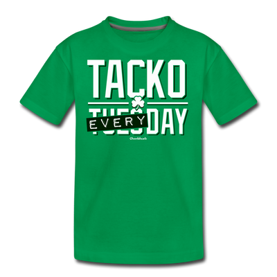 Tacko Everyday Youth T-Shirt - kelly green