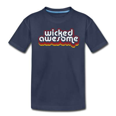 Wicked Awesome Toddler T-Shirt - navy