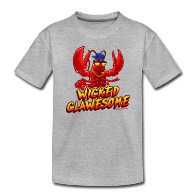 Wicked Clawesome Toddler T-Shirt - heather gray