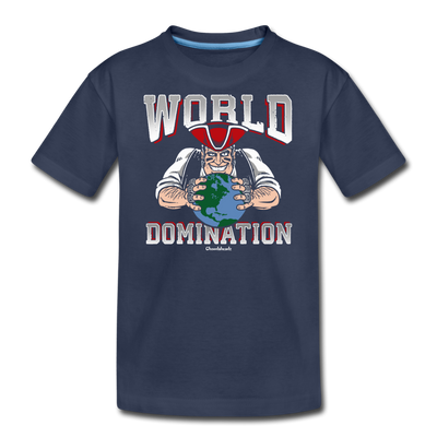 World Domination Youth T-Shirt - navy