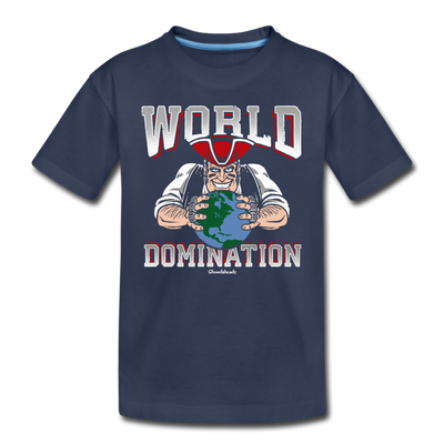 World Domination Toddler T-Shirt - navy