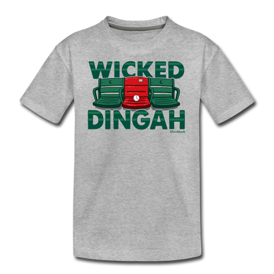 Wicked Dingah Youth T-Shirt - heather gray