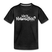 Hey Hawahyah Youth T-Shirt - charcoal gray