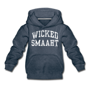 Wicked Smaaht Youth Sweatshirt - heather denim