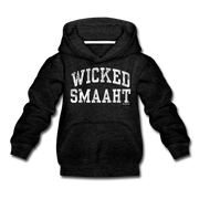 Wicked Smaaht Youth Sweatshirt - charcoal gray