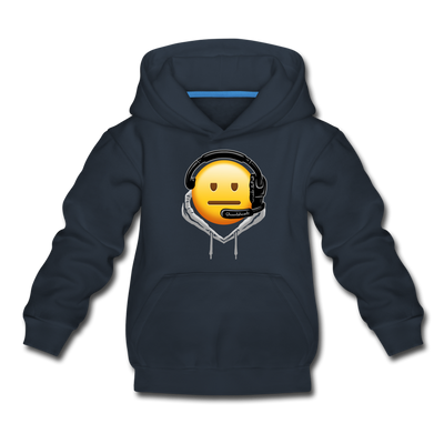 Billmoji Kids Youth Sweatshirt - navy