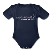Ducks on the Common Infant One Piece - dark navy