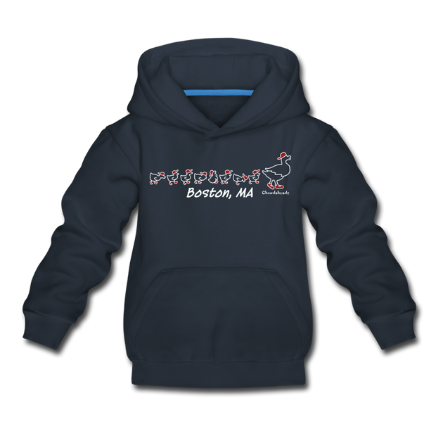 Ducks on the Common Youth Sweatshirt - navy