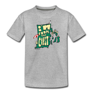 I'm from the coast Rhode Island Kids' Premium T-Shirt - heather gray