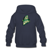 I'm from the woods Maine Kids' Hoodie - navy