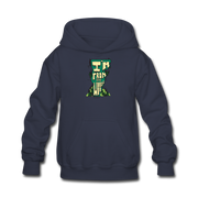 I'm from the woods VT Kids' Hoodie - navy