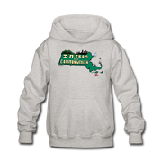 I'm from the Commonwealth Kids' Hoodie - heather gray