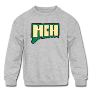 Meh Connecticut Kids' Crewneck Sweatshirt - heather gray