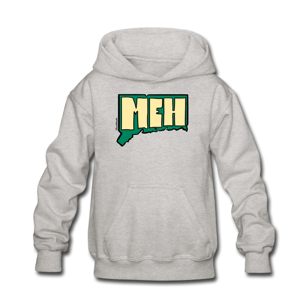 Meh Connecticut Kids' Hoodie - heather gray