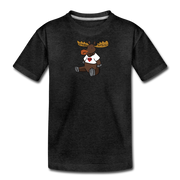 Chubby Maine  Moose Kids' Premium T-Shirt - charcoal gray