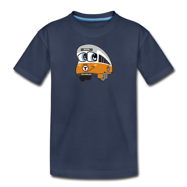 Orange Line Toddler T-Shirt - navy