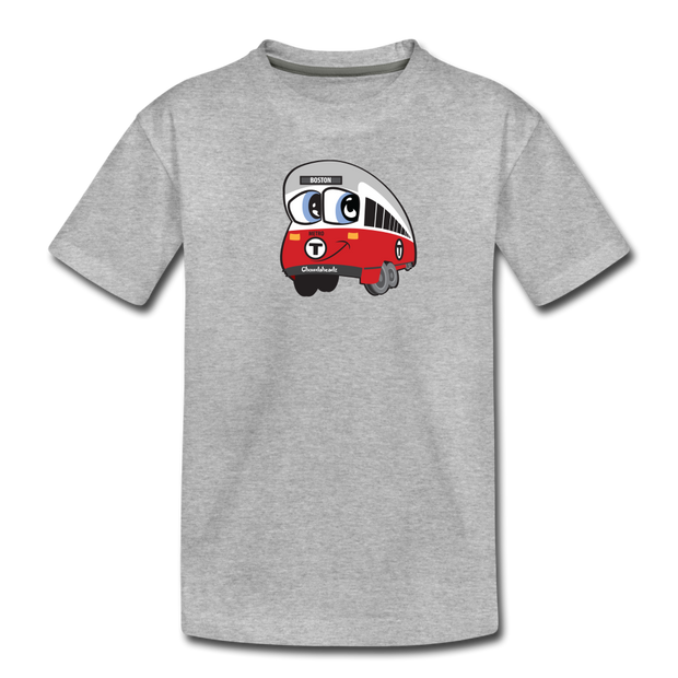 Red Line Toddler T-Shirt - heather gray