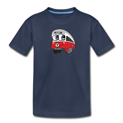 Red Line Toddler T-Shirt - navy