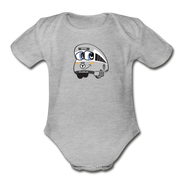 Infant One Piece - heather gray