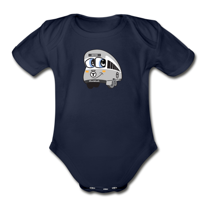 Infant One Piece - dark navy