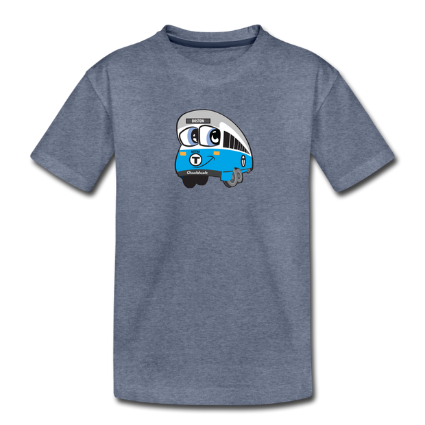 Blue line Toddler T-Shirt - heather blue