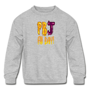 PBJ All day Kids Youth Sweatshirt - heather gray