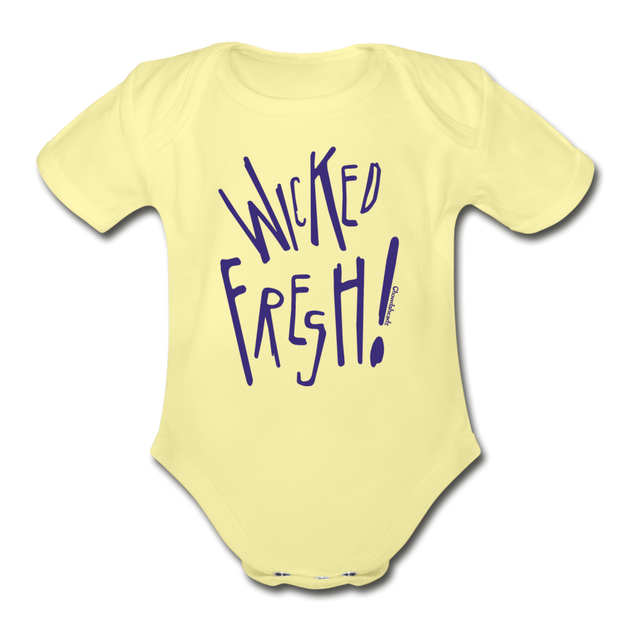 Wicked Fresh Infant One Piece - washed yellow