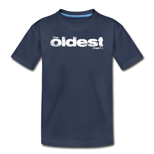 The oldest part 1 Youth T-Shirt - navy