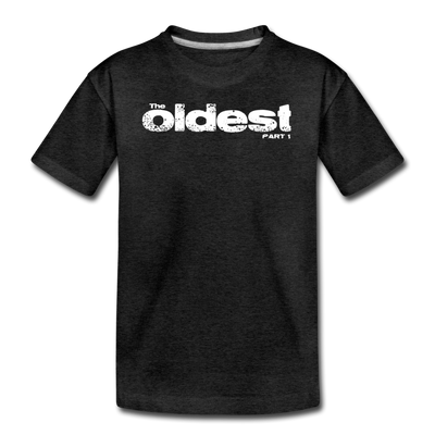 The oldest part 1 Youth T-Shirt - charcoal gray
