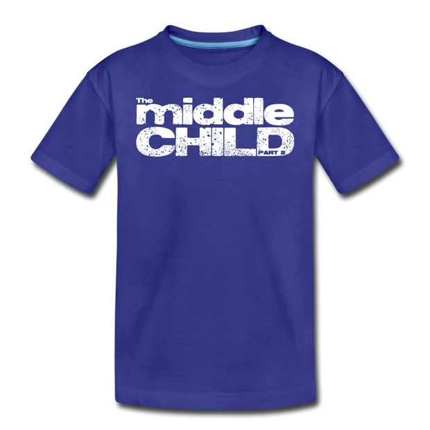 The Middle Child T-Shirt - royal blue
